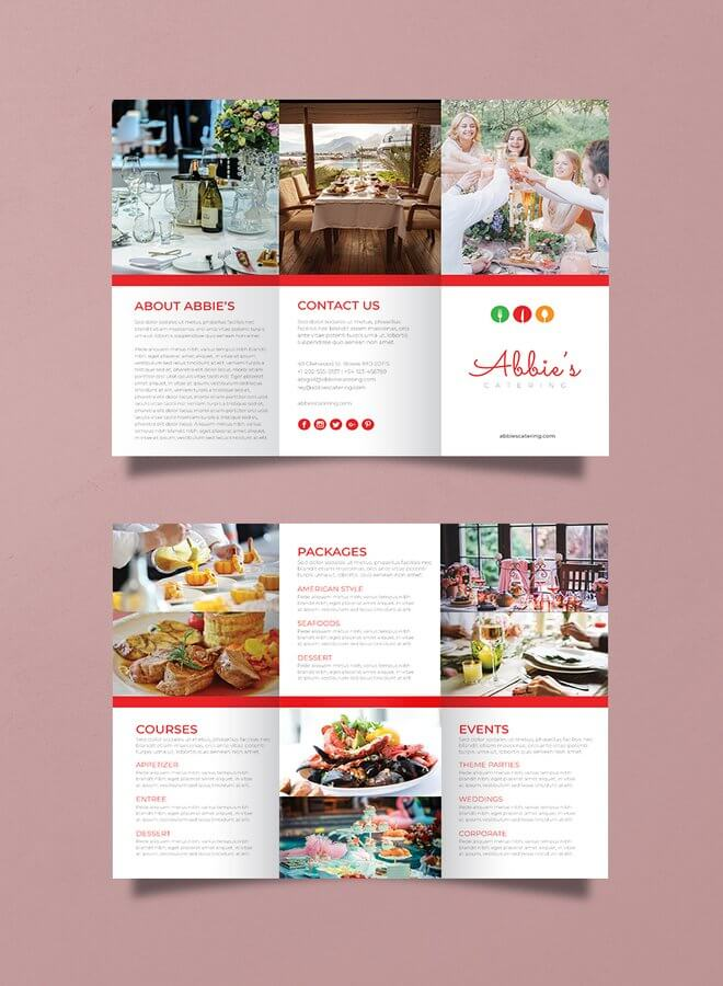 Catering-Brochure-Template