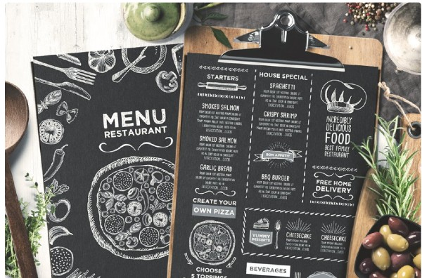 Trifold + Cafe Menu Template