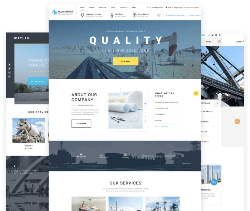 Dynamics HTML Template
